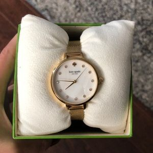Kate Spade Gold Tone Watch
